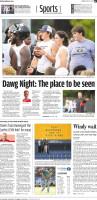 Huge Dawg Night for UGA